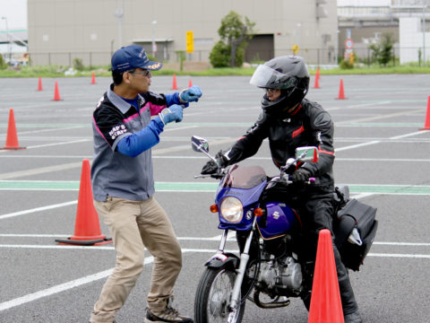 第5回 ナップス ライディングスクール in 川崎大師